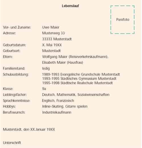 Bewerbungs Lebenslauf Vorlagenaufmachung Archiv 3dcenter Forum